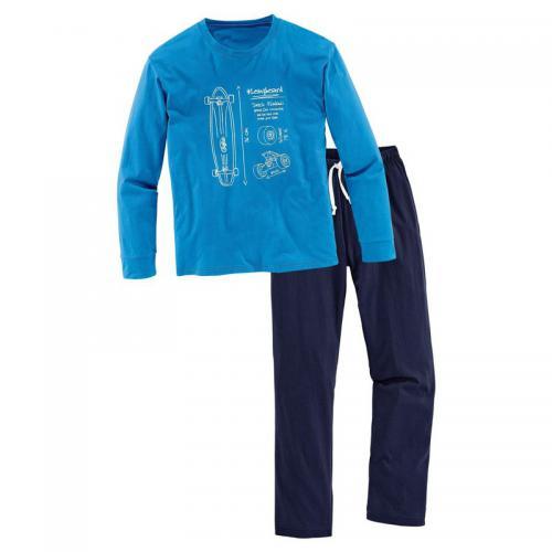 4c1154accc41e Buffalo - Pyjama en jersey garçon Buffalo - Bleu - Pyjama