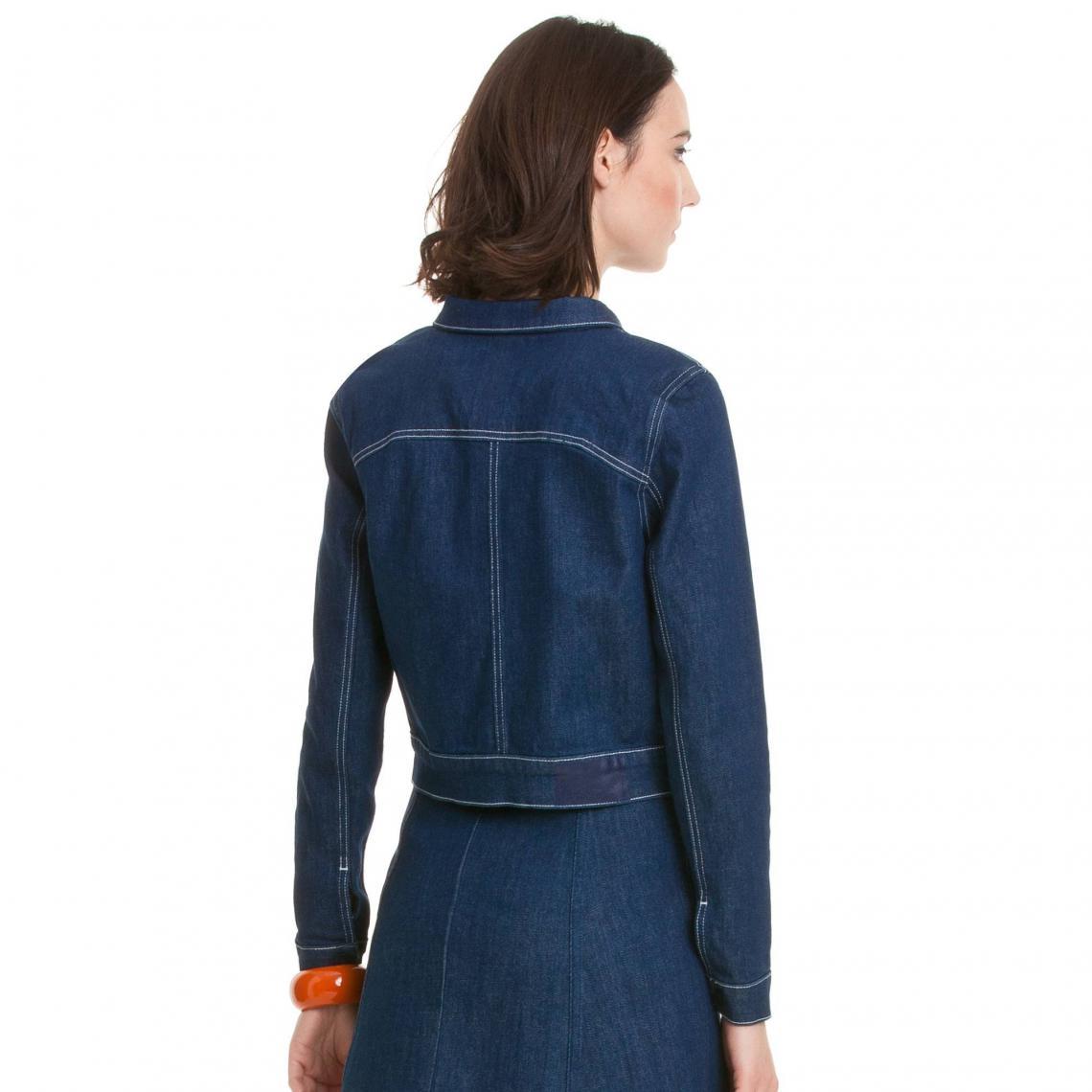 Veste en jean femme Reblc Calvin Klein - brut vintage   3Suisses 2b8bb6de2277