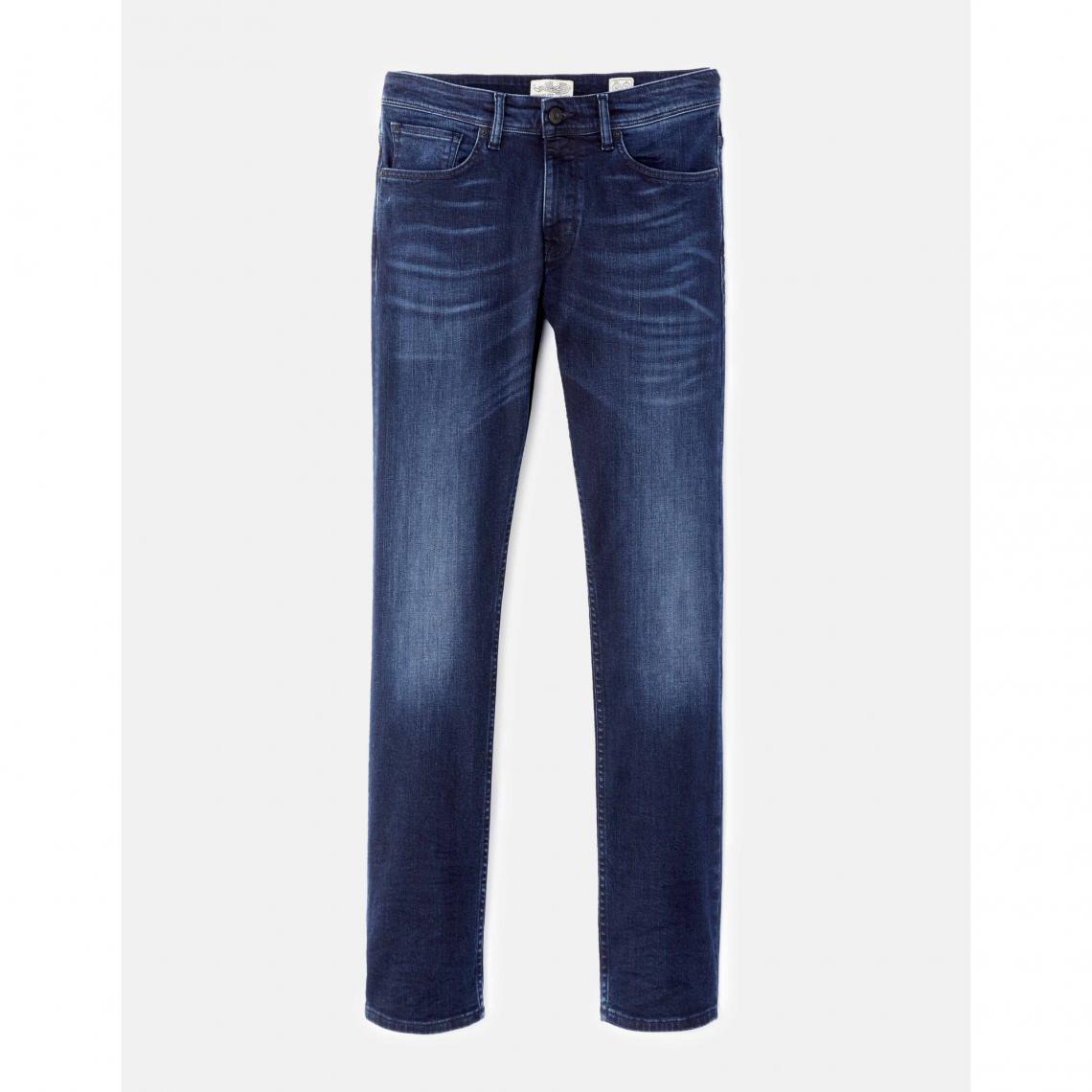 23be4e1d2ba89 Jean 5 Poches homme Celio - Bleu Indigo   3 SUISSES