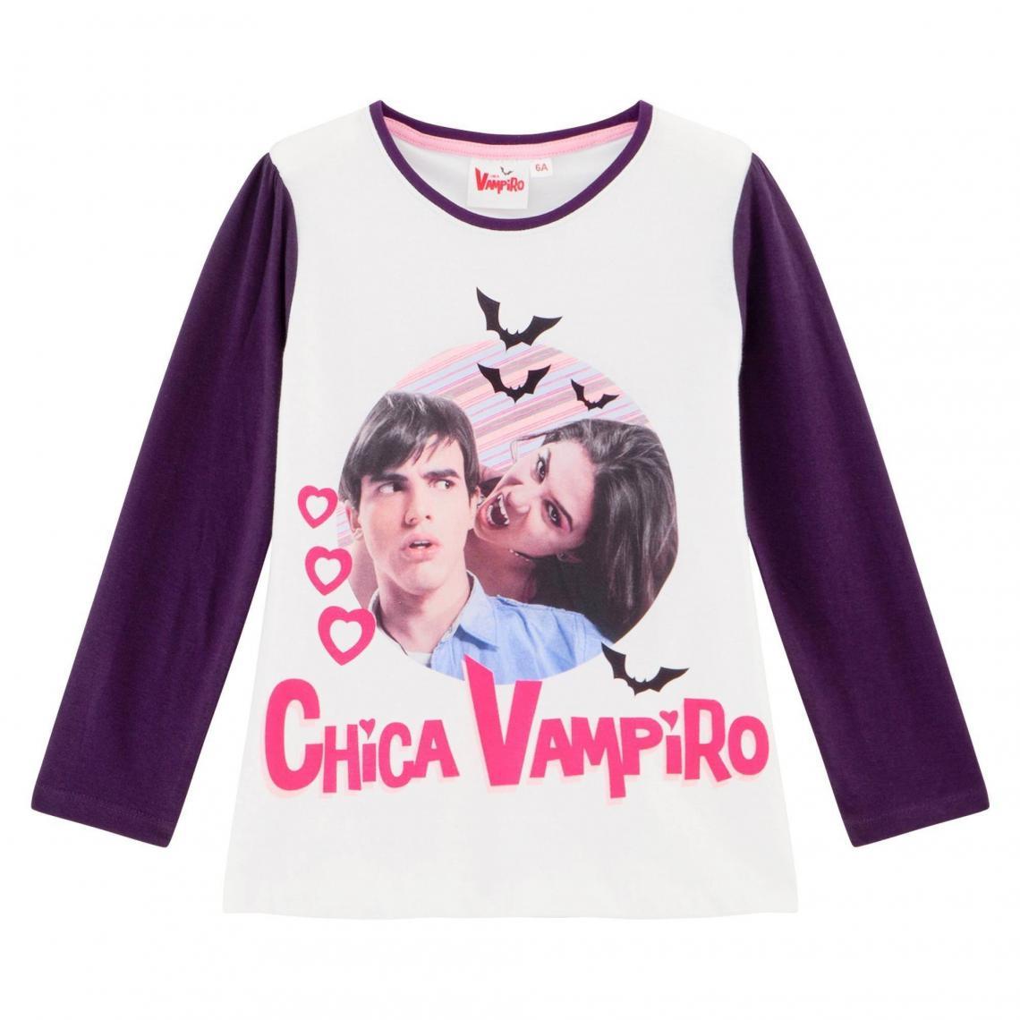 61ed27ef1a1c5 Pyjama fille imprimé Chica Vampiro - Violet