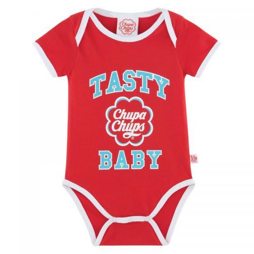Chupa Chups - Body manche courtes bébé Chupa Chups® - Rouge - Vêtements  enfants Moins 9f851232526