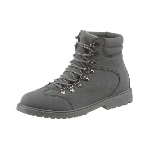 3d016cb9670786 City Walk - Chaussures montantes matiére synthétique nubuck homme City Walk  - Gris - Bottes /