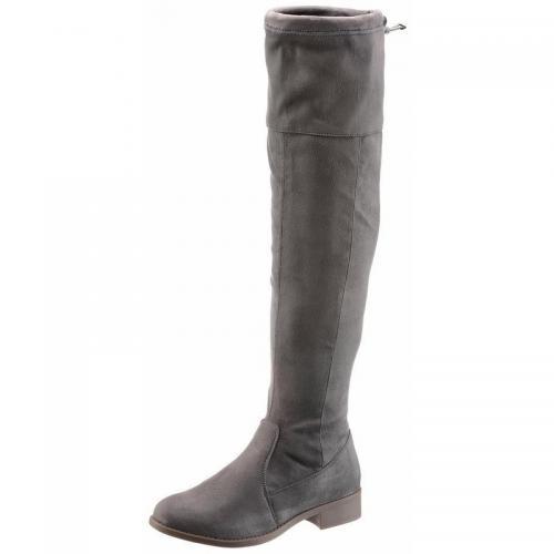 6d0b24e03911be City Walk - Bottes femme City Walk - Gris - Promos chaussures, accessoires  femme