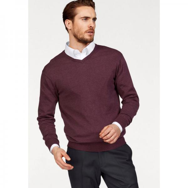 Pull col V manches longues coton et soie homme Class International - Multicolore Class International Homme