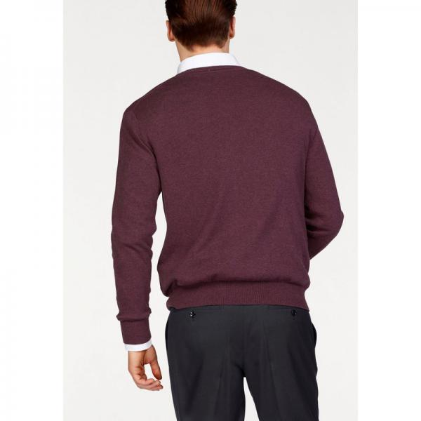 Pull col V manches longues coton et soie homme Class International - Multicolore Class International