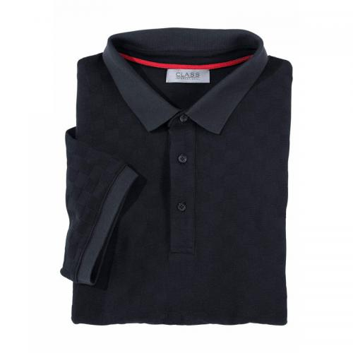 Polo manches courtes en maille homme Class International - Marine Class International