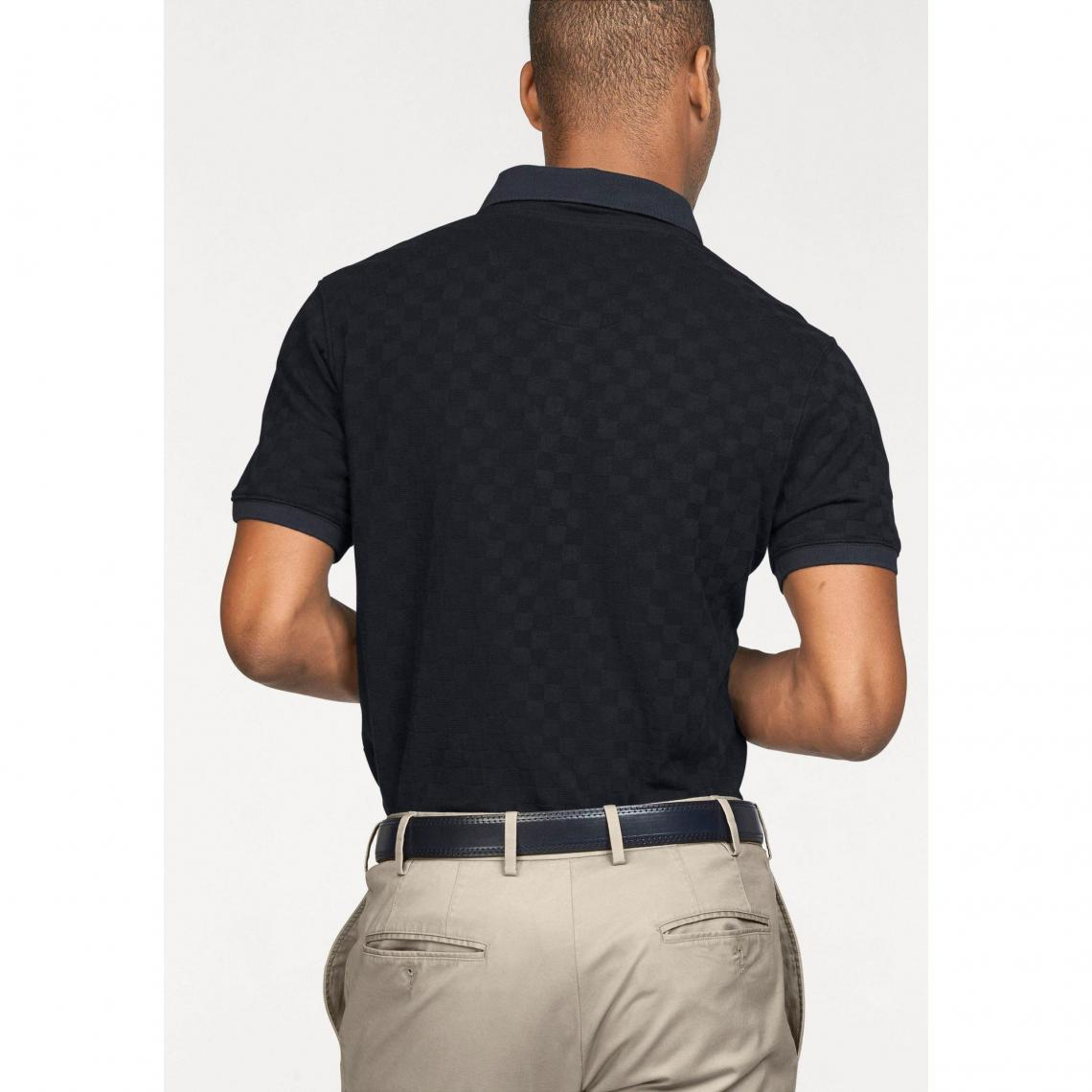 Polo manches courtes en maille homme Class International - Marine yV31Y
