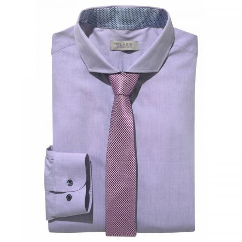 Chemise manches longues homme Class International - Lilas Class International