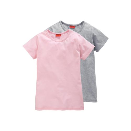 Colors For Life - Lot de 2 tee-shirts manches courtes fille - T-shirt / Débardeur