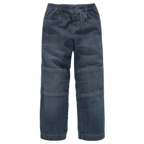 bf7f7df046921 Colors For Life - Jean droit taille élastique garçon Colors For Life - Bleu  Denim -