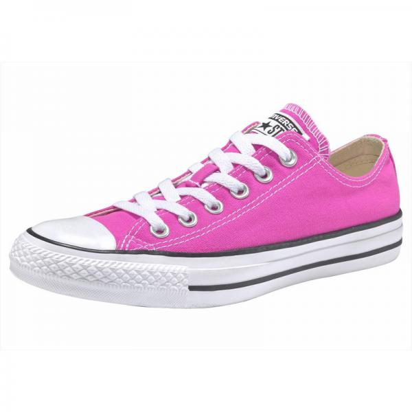 Sneakers basses femme Converse Chuck Taylor All Star Ox - Rose Fluo Converse Homme