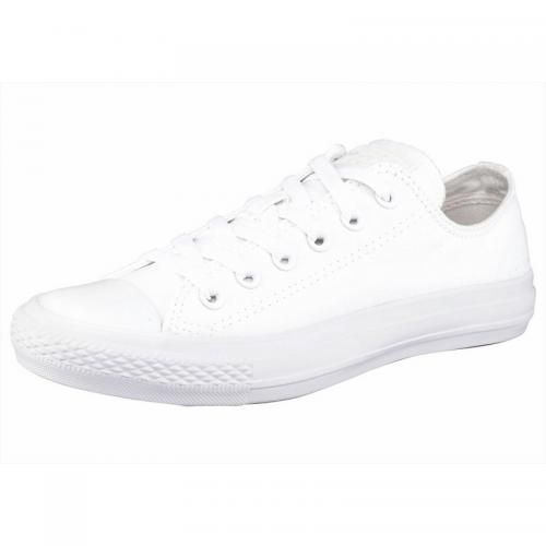Sneaker basses homme Converse Chuck Taylor All Star Seasonal Ox Monochrome - Blanc - Blanc Converse Homme