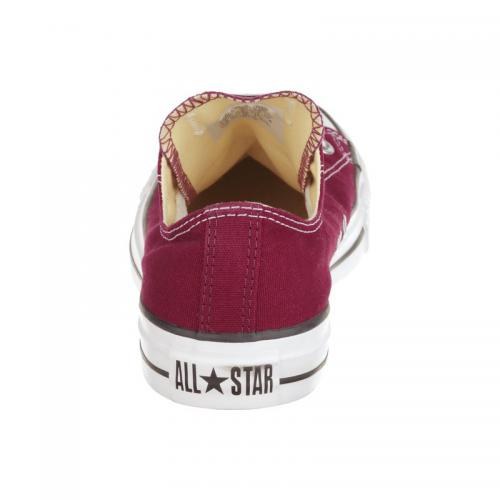 Baskets Converse All Star Ox toile - Bordeaux Converse