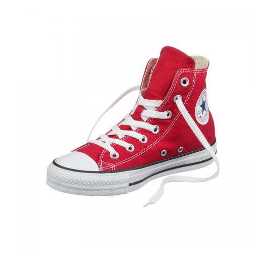 Chaussures Converse All Star Hi montantes - Rouge