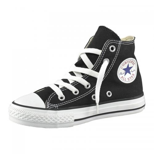 Converse Chuck Taylor All Star baskets montantes en toile enfant - Noir