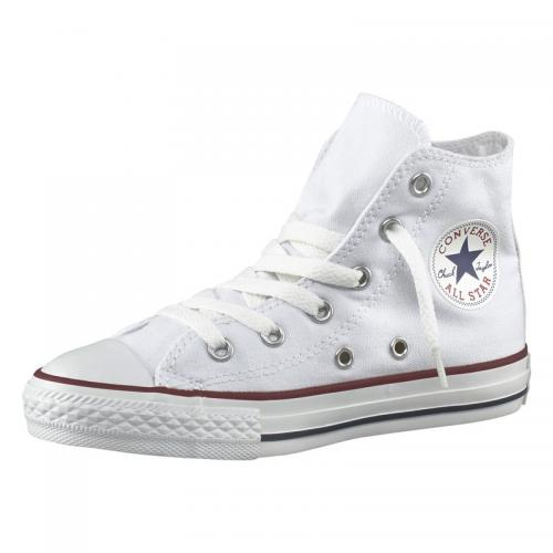 9c041337183 Converse - Converse Chuck Taylor All Star baskets montantes en toile enfant  - Blanc - Converse