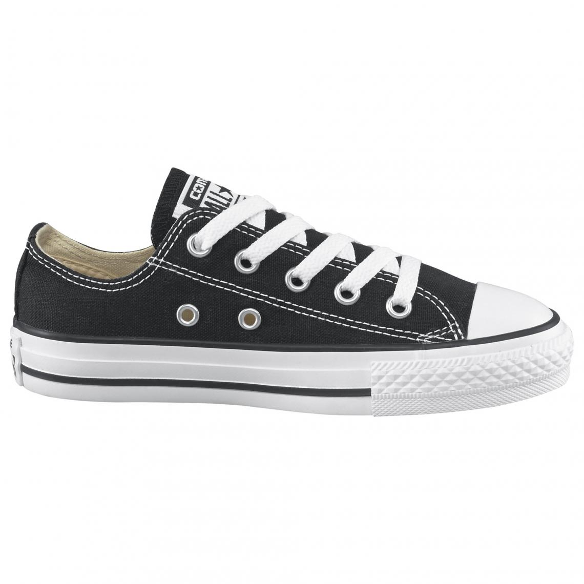 7ad93a31f37 Converse Chuck Taylor All Star baskets basses en toile enfant - Noir ...