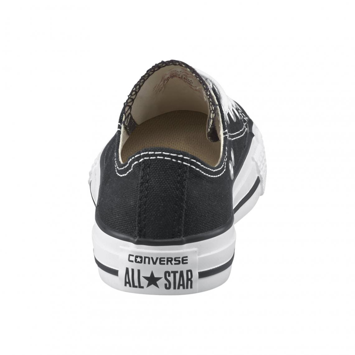 132bfb9614c71 Converse Chuck Taylor All Star baskets basses en toile enfant - Noir  Converse