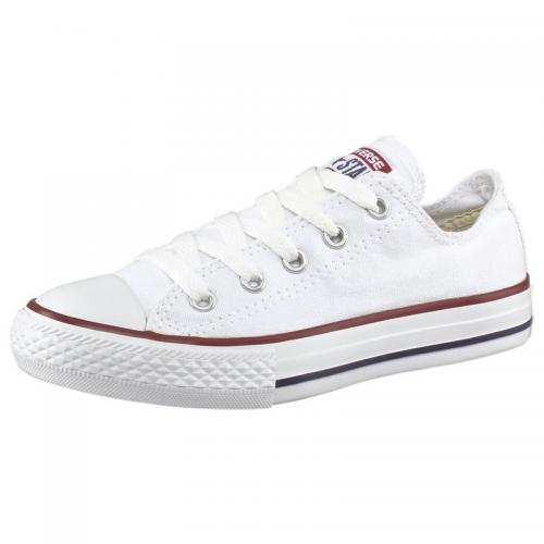 Converse - Converse Chuck Taylor All Star baskets basses en toile enfant - Blanc - Mode Enfant