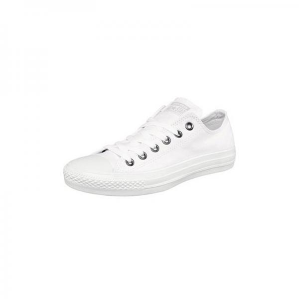 Baskets Converse All Star Ox toile - Blanc - Blanc Converse Homme