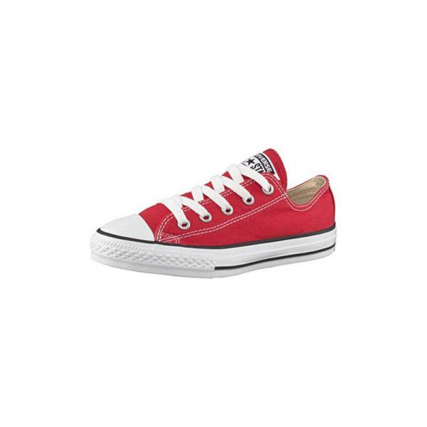 20d3d578b8f76 Converse Chuck Taylor All Star baskets basses en toile enfant - Rouge Converse  Enfant