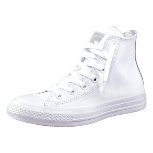 Converse Chuck Taylor All Star Core Mono baskets cuir homme - Blanc
