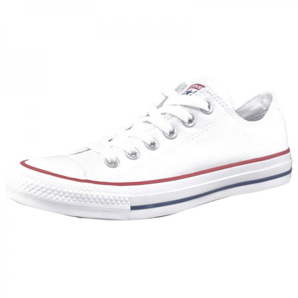 Converse All Star Ox tennis basses à lacets homme - Blanc Converse Homme