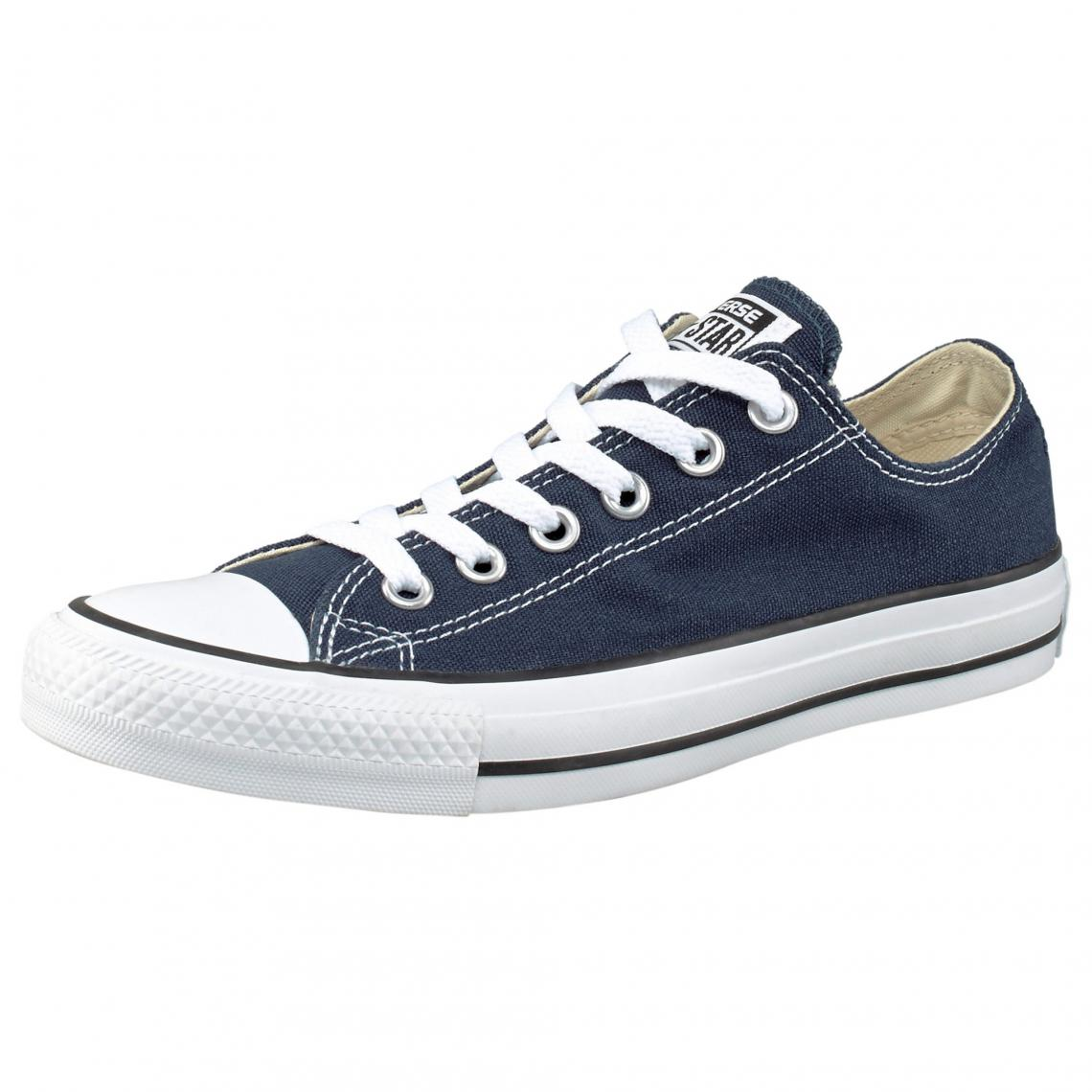Converse All Star Ox tennis basses � lacets homme - Bleu - 3Suisses