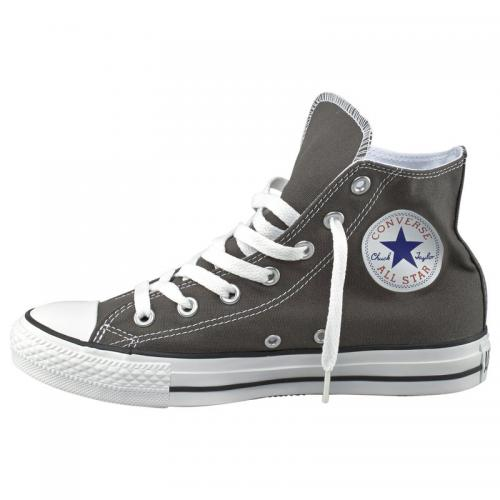 Baskets montantes homme Chuck Taylor Converse All Star Hi - Gris Converse Homme