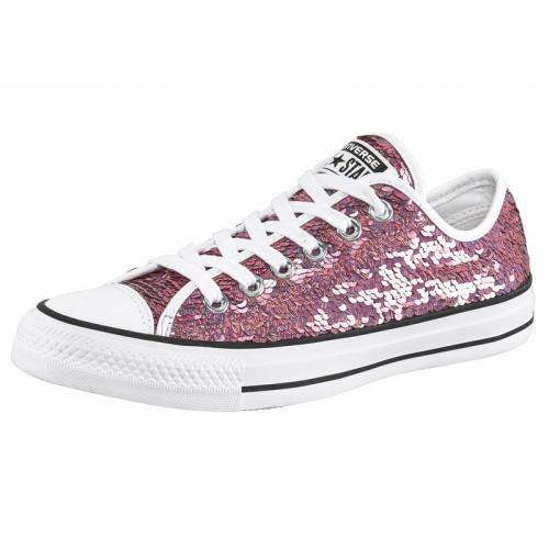 Converse - Converse Sneaker Chuck Taylor All Star Holiday Party Ox femme - Rose - Sneakers femme