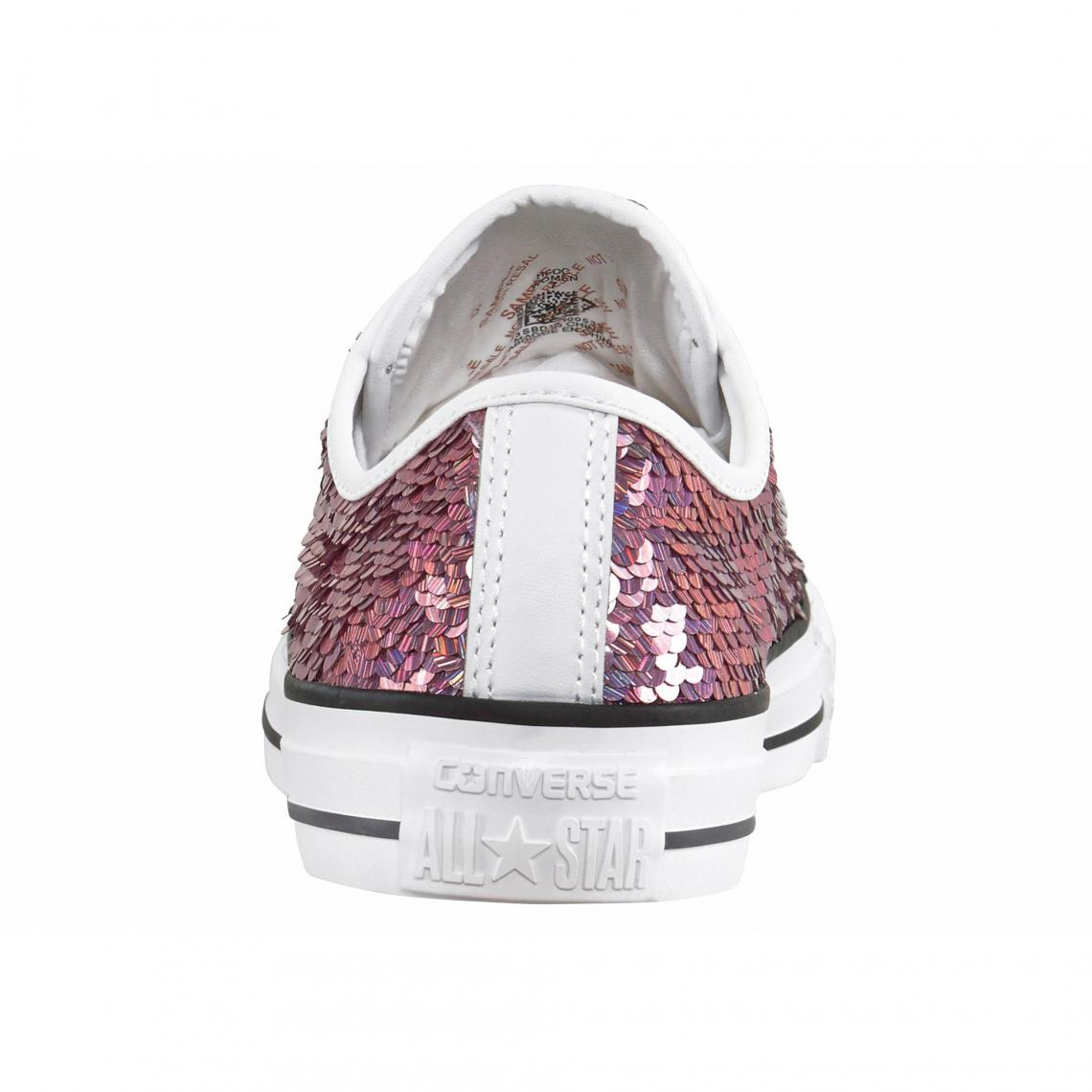 ef93c0e370bae Converse Sneaker Chuck Taylor All Star Holiday Party Ox femme - Rose  Converse