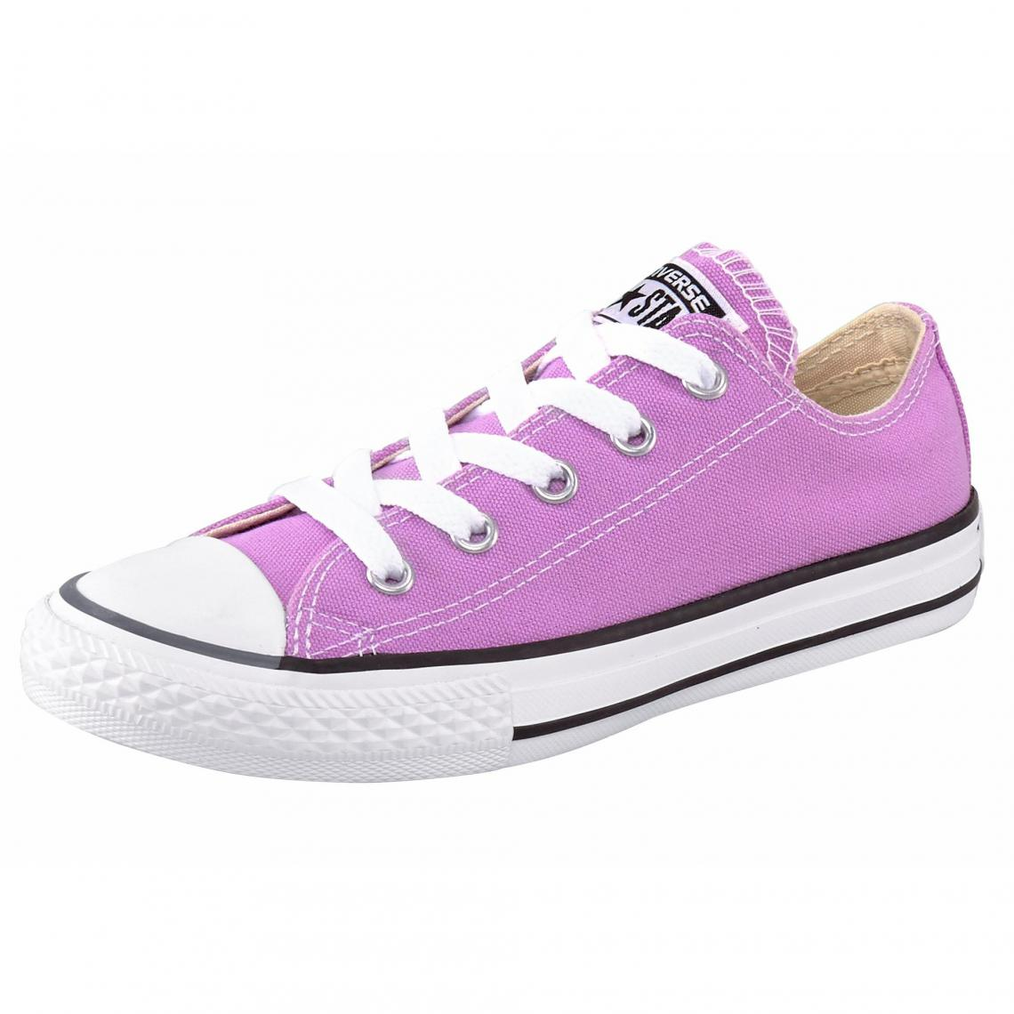 43f1f145a1a28 Converse Chuck Taylor All Star Ox sneakers basses en toile - Rose Converse  Enfant