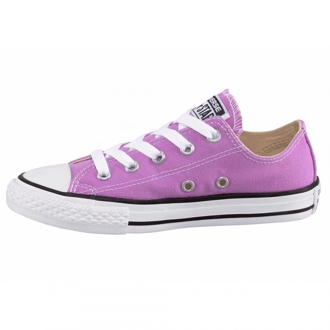 5a25439a62da6 Converse Chuck Taylor All Star Ox sneakers basses en toile - Rose Converse  Enfant Cliquez l image pour l agrandir. Chaussures fille Converse