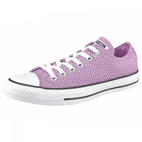 Converse - Converse Chuck Taylor All Star Snake sneakers basses en toile - Violet - Chaussures femme
