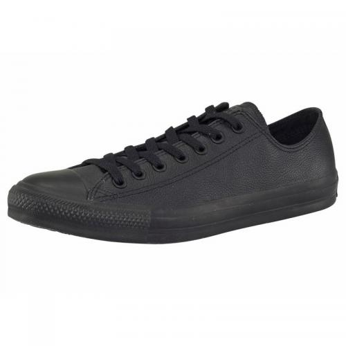 Converse - Converse Chuck Taylor All Star Basic Ox sneakers basses en cuir - Noir - Baskets de sport