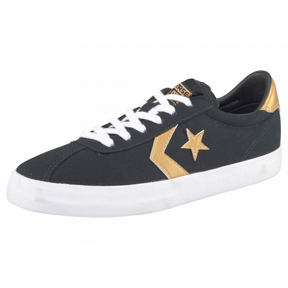 4c85258383a92 Converse Breakpoint Ox sneakers basses en toile femme - Noir - Doré Converse  Femme