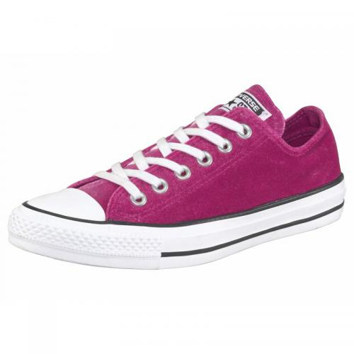 Converse - Converse Chuck Taylor All Star Ox sneakers basses en toile femme - Rose Vif - Baskets
