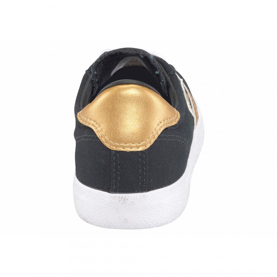 fea14d6691a94 Toutes les chaussures Converse Cliquez l image pour l agrandir. Converse  Breakpoint Ox sneakers basses en toile femme - Noir - Doré Converse