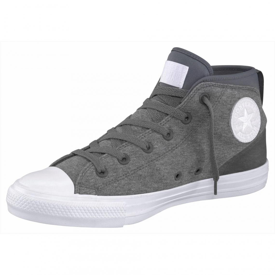 0c1ef8cd46287 Baskets montantes homme Converse Chuck Taylor All Star Syde Street - Gris  Converse Homme