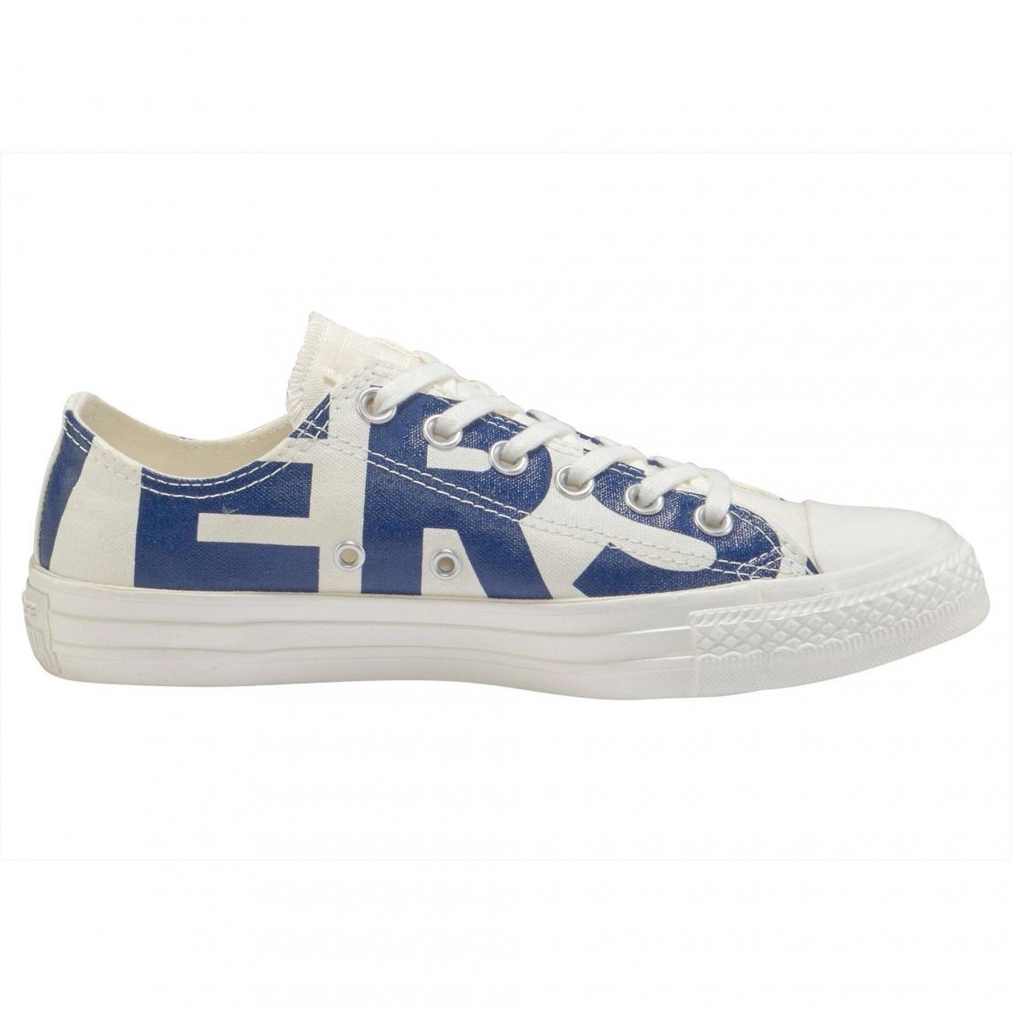 eb92a425e9628 Converse Chuck Taylor All Star Ox Big Logo Baskets homme - Blanc ...