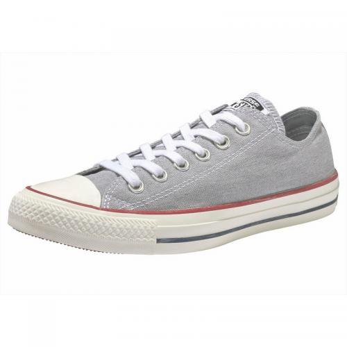 Converse - Baskets basses à lacets homme Converse Chuck Taylor All Star Ox Jeans  - Gris - Sneakers homme