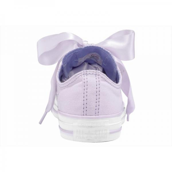 Baskets basses femme Converse Chuck Taylor All Star Ox Big Eyelet - Lilas Converse