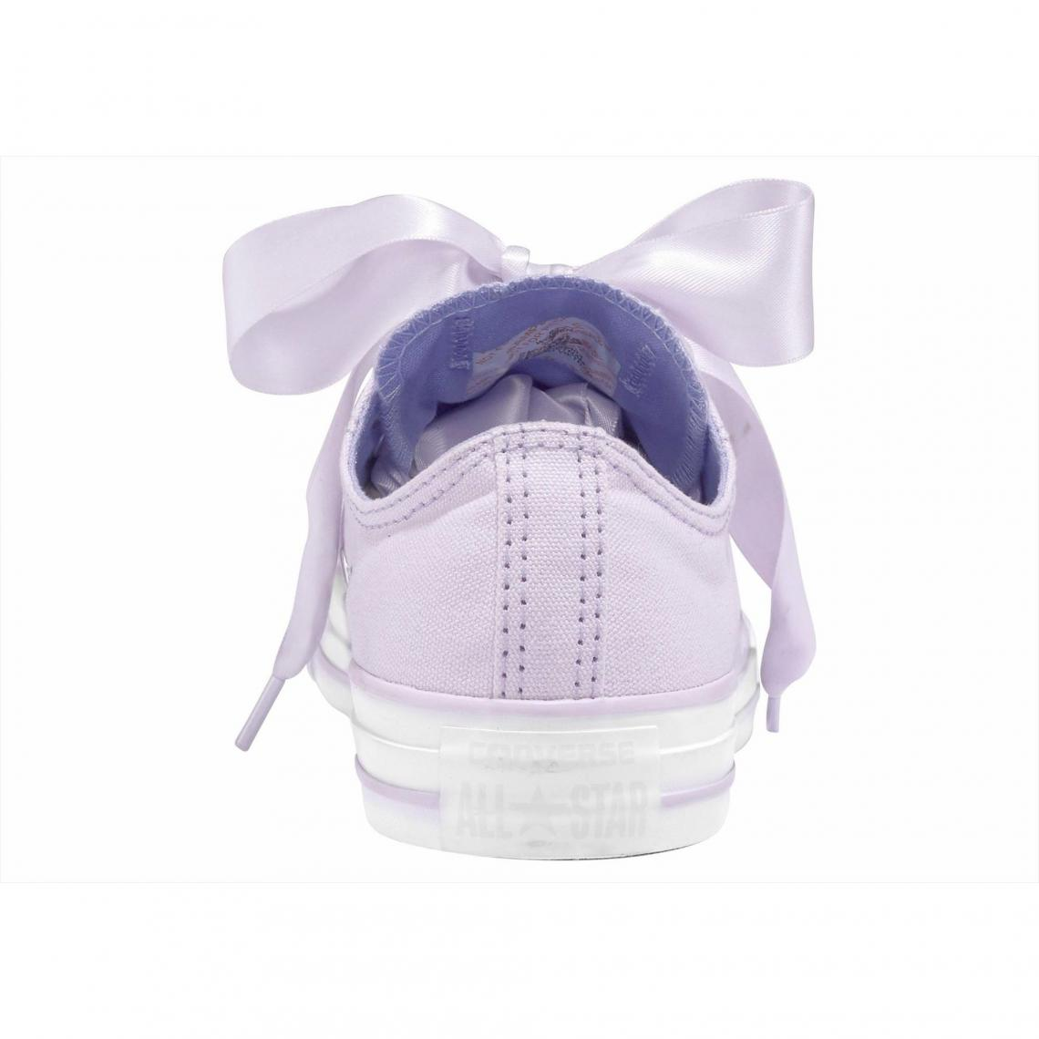 innovative design d466f c3d8c Baskets basses femme Converse Chuck Taylor All Star Ox Big Eyelet - Lilas  Converse