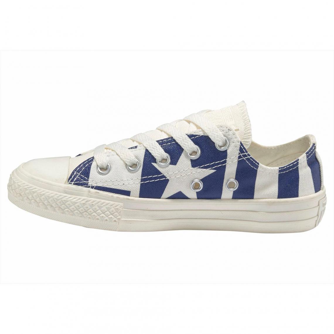 Chaussures Basses Fille Converse Chuck Taylor All Star Bleu