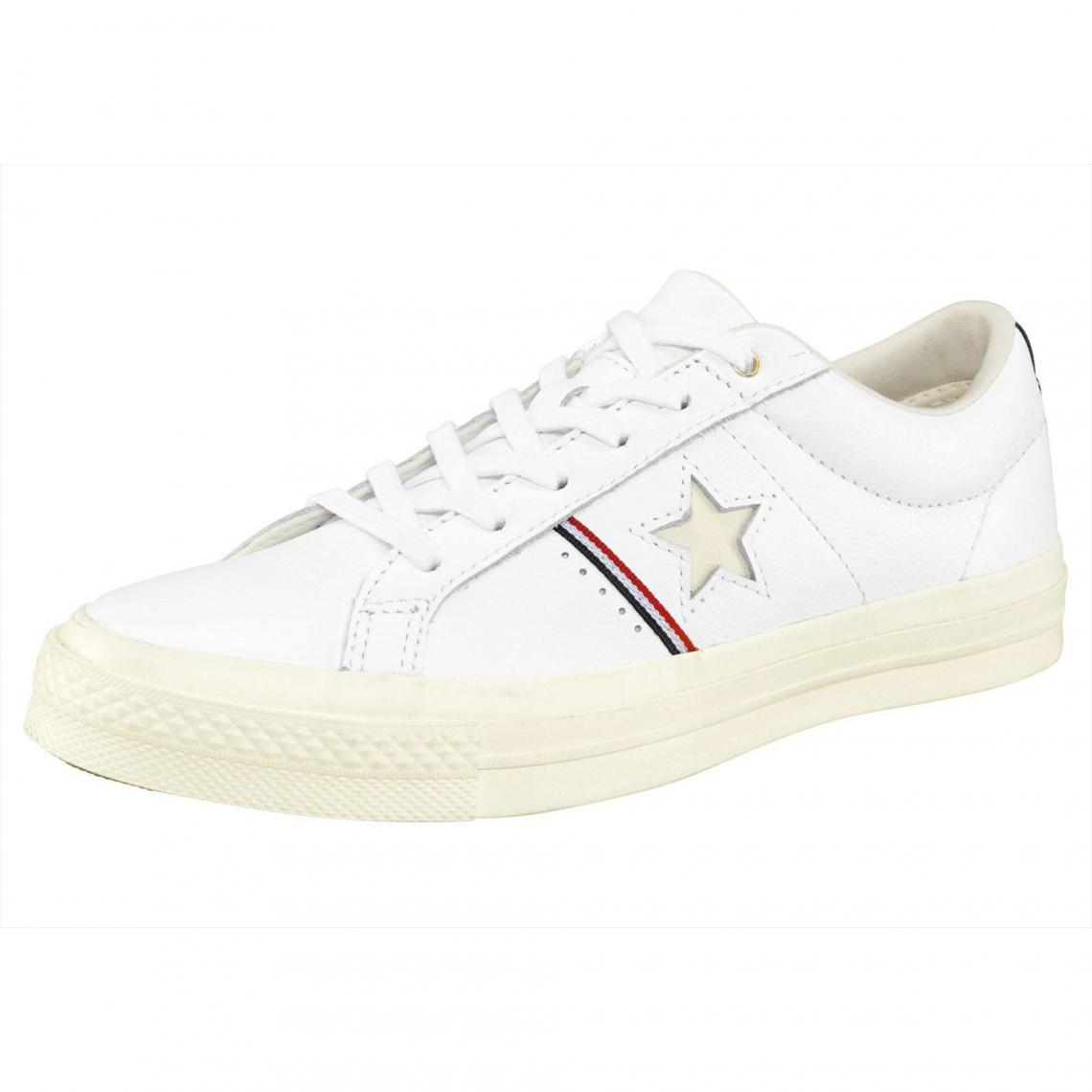 b9ca89ff521 Baskets basses homme Converse One Star Ox - Blanc Converse Homme