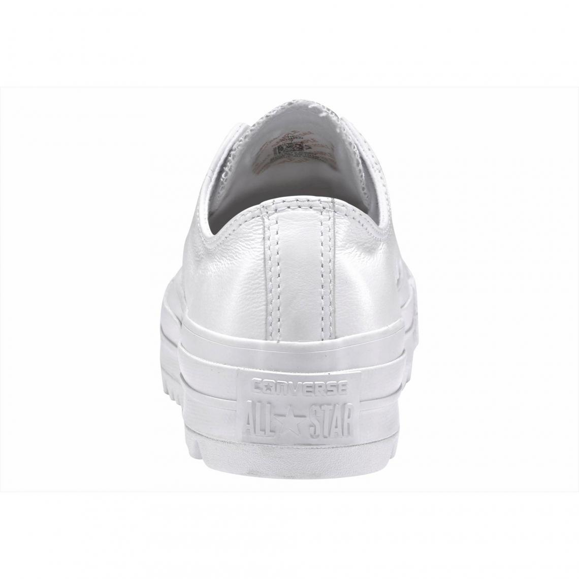 Sneakers basses Converse Chuck Taylor All Star Lift ripple-Ox femme - Blanc  Converse 3c7df613a727