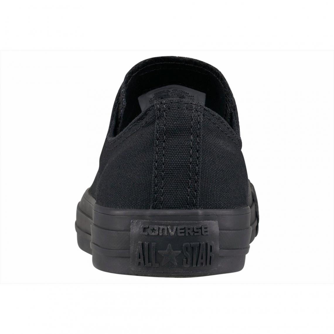 df345760c6e6 Sneaker basses homme Converse Chuck Taylor All Star Seasonal Ox Monochrome  - Noir - Noir Converse