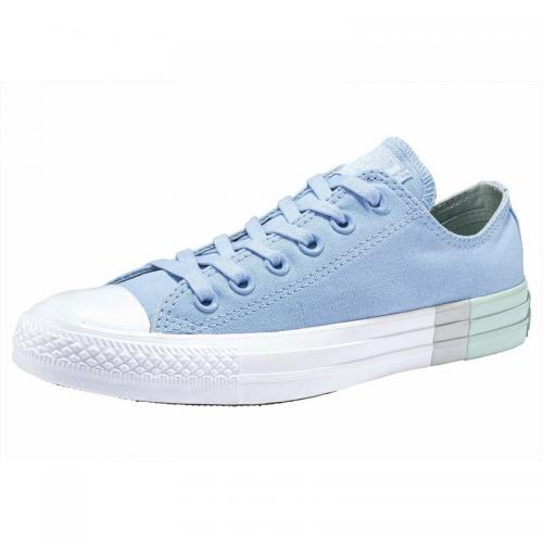 478b5291964 Converse - Baskets basses femme Converse Chuck Taylor All Star Ox  Colorblock - Bleu - Menthe