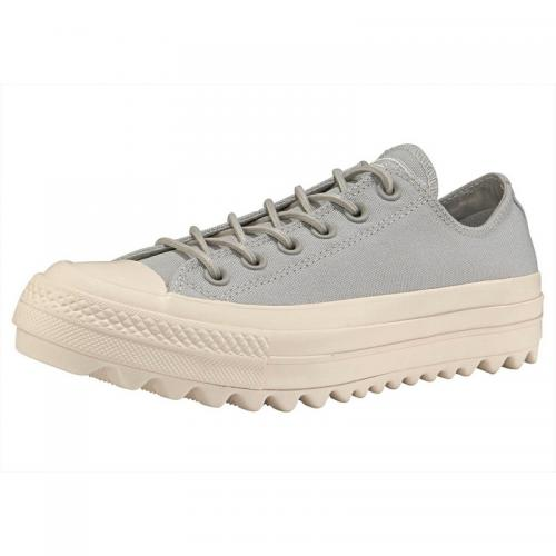 Converse - Baskets basses femme Converse Chuck Taylor All Star Ox Lift Ripple - Gris - Promos sport homme