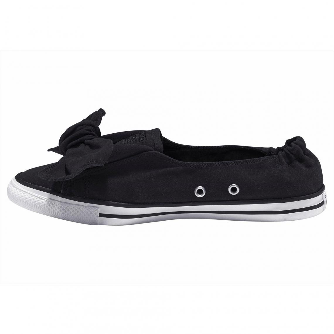 cf1cf12df36b2 Sneakers Converse Cliquez l image pour l agrandir. Ballerines nœud femme  Converse Taylor All Star Knot Ox - Noir Converse